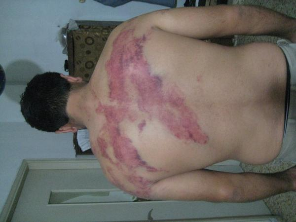 syrians beaten by leb army